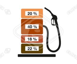 Icon<br />Petrol Station Dispenser Pump & Nozzle (Percent Tax)