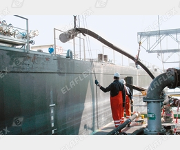 Ship loading with chemicals
